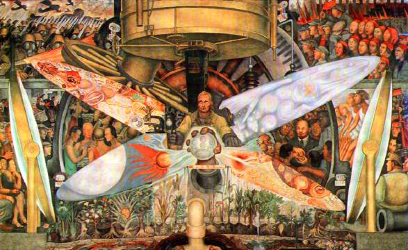 Low expectations met in gm uaw deal danger for retirees for Diego rivera s mural