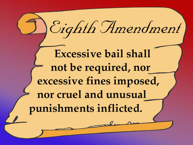 an overview of the violation of the eighth amendment in the act of the death penalty in the united s However, in the early 1960s, it was suggested that the death penalty was a cruel and unusual punishment and, therefore, unconstitutional under the eighth amendment the 'standard of decency' in 1958, the supreme court decided in trop v.