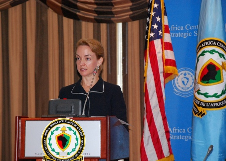 Amanda J. Dory, Deputy Assistant Secretary of Defense for Africa Policy.