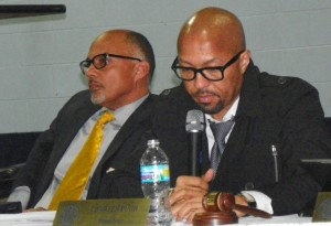 Council members Gary Brown and Charles Pugh were disdainful of 600 Detroiters who turned out for the Hantz Farms hearing Dec. 10, 2012, voting the next day for it even though it was not mandated by the state.