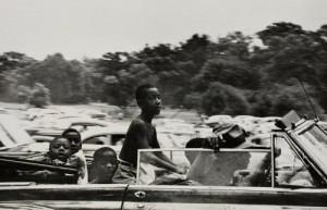 Black children enjoying Belle Isle in 1955. Photo by Robert Frank.