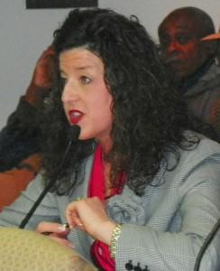 Michelle Hodgres, president Belle Isle Conservancy,