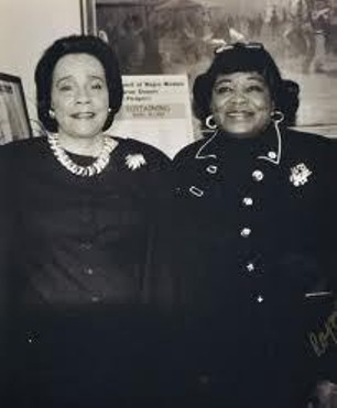 Coretta Scott King and Dr. Betty Shabazz.