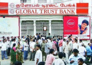 Global Trust Bank run