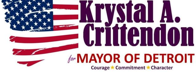 Krystal Crittendon campaign banner