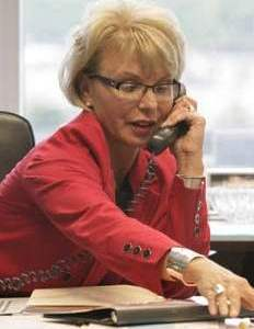 "Sandra Pierce, chair of Detroit's ""Financial Advisory"" Board, previously head Charter One's Michigan offices. Charter One is a subsidiary of the Royal Bank of Scotland."