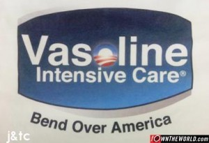 Vaseline bend over
