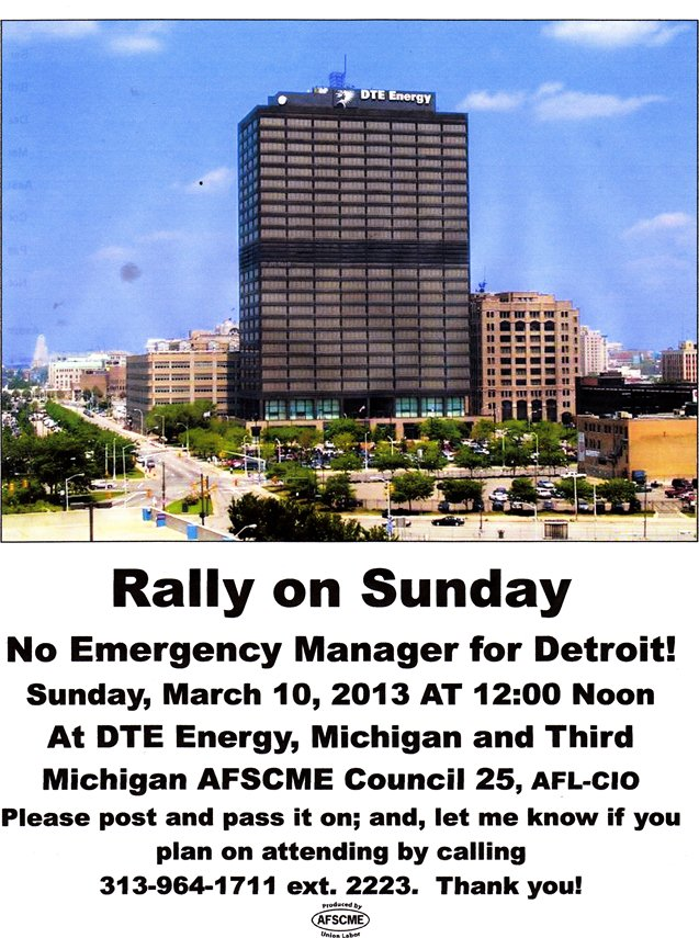DTE rally