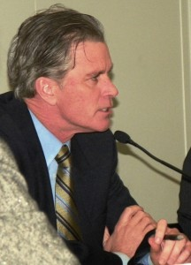 Treasurer Andy Dillon told  City Council members the state would keep paying them if they went along with the takeover.