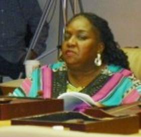 Councilwoman Joann Watson.