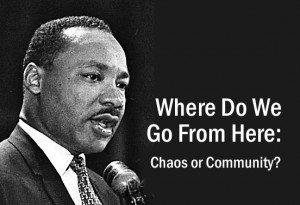 Dr. Martin Luther King, Jr. organized mass protests to win victories for the Black community.