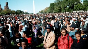 Detroit, the birthplace of the Nation of Islam in 1930, needs its own Million Men, Women and Children March. Shown here, the NOI's Mllion Man March Oct. 16, 1995.