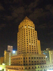 Photo of Dade County Courthouse taken by Mlller's friend.