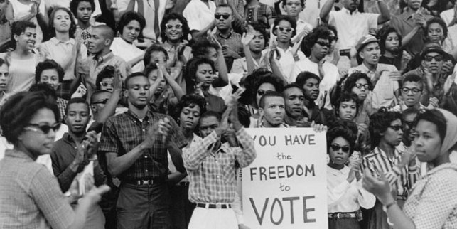 Students in Durham County, South Carolina fought to affirm the right to vote during the civil rights movement. Gov. Rick Snyder is trying to turn back history.