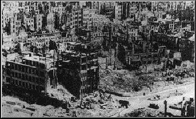 Bombings of Dresden Ww2 Dresden Bombed