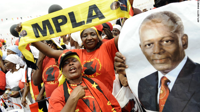 The MPLA of Angola vanquished the U.S.-supported anti-revolutionary UNITA front after years of a bloody civil war.