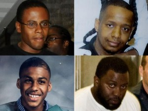 Bronx suspects: (Clockwise from top left) Laguerre Payen, James Cromitie, Onta Williams and David Williams.