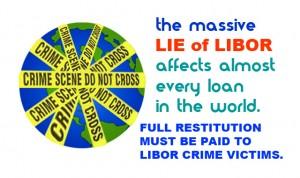 LIBOR scandal is massive.