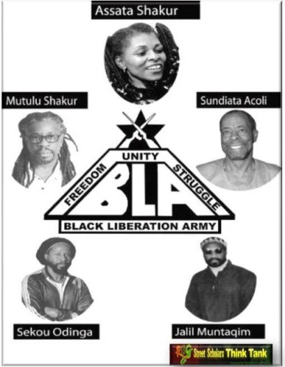 Comrades of the Black Liberation Army.