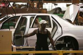 GM auto worker before massive lay-offs hit.