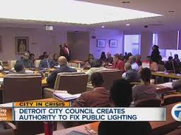 City Council approved plan for Public Lighting Authority which will reduce number of city's street lights.