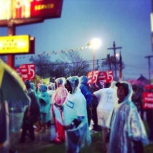 Fast food strike 2