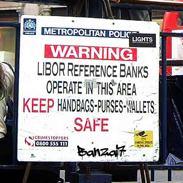 LIBOR satirical sign