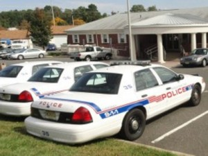 Middletown police cars.