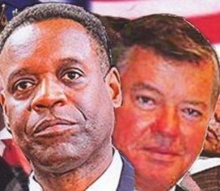 "Detroit EM Kevyn Orr and Stephen Brogan, head of Jones Day, Detroit's ""debt-restructuring consultant."""