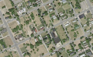 Most of Detroit's vacant lots are in the neighborhoods, due to predatory lending and fraudulent bank foreclosures.