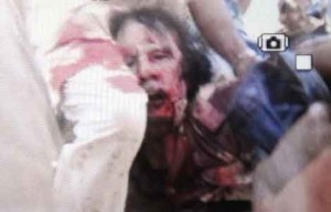 The U.S.-ordered assassination of Col. Muammar Gadhafi, leader of Libya and the Organization of African Unity.