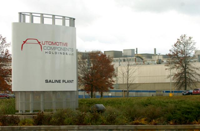 The Automotive Components Holdings plant in Saline, formerly Visteon, was Washtenaw County's largest employer.