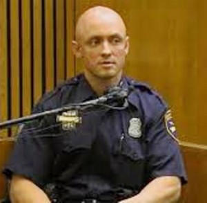 SRT Officer Shawn Stallard said he saw no one else in front of Weekley, and no struggle, during his testimony,