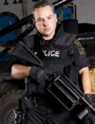 Detroit Special Response Team officer Joseph Weekley.