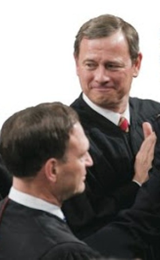 Justices Alito, Roberts