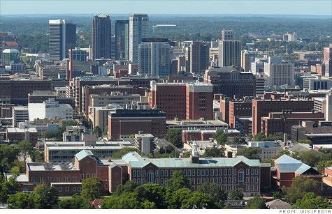 the City of Birmingham, Alabama in Jefferson County.