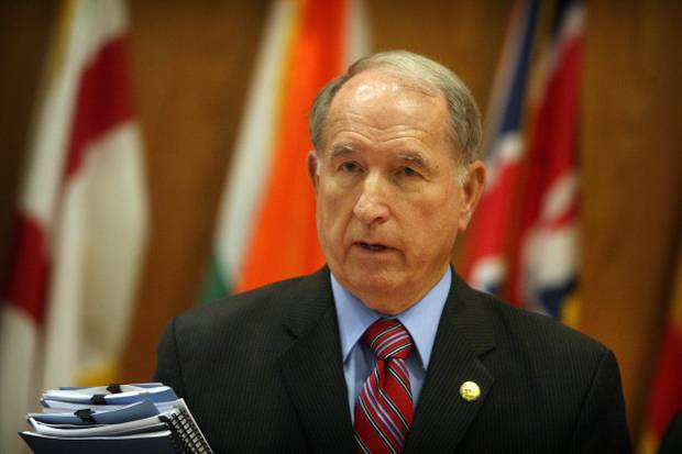 San Bernadino Mayor Pat Morris has opposed cuts to pensions as well as privatization during bankruptcy proceedings.