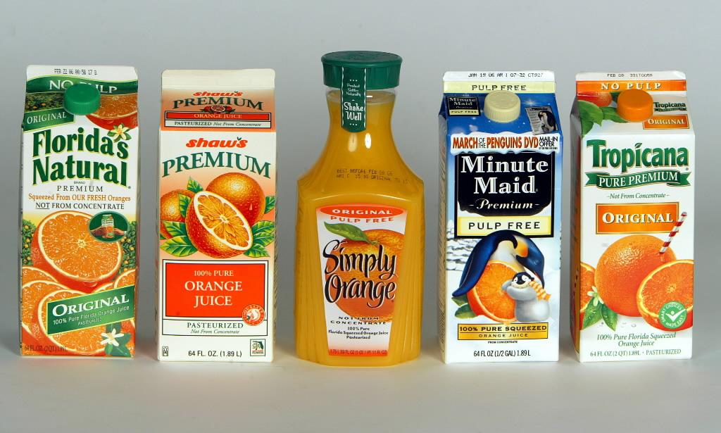 ... Florida oranges and Florida orange juice. Tropicana is undoubtedly not