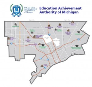 Michigan's EAA, better known as the Educational Apartheid Authority, is limited to Detroit schools,