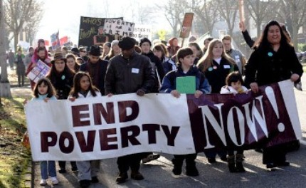 Modern-day battleagainst poverty. Dr. King was assassinated before his next march, the Poor People's Campaign, took place, to unite poor and working people of all backgrounds.