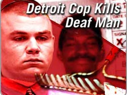Detroit cop David Krupinski shot Errol Shaw Sr., a deaf-mute, to death after he could not hear his command to drop his rake.