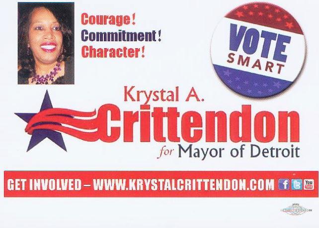 Krystal Crittendon campaign