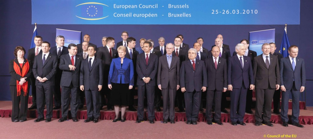 March 2010 meeting of the European Council.