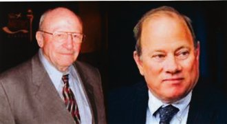 The late Wayne County Executive Ed McNamara; Duggan was his Deputy Executive from 1986-2002.