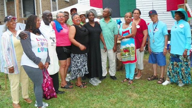 Some of the many who turned out for a campaign fund-raiser/fish fry at Hush House Friday, July 26, 2012.