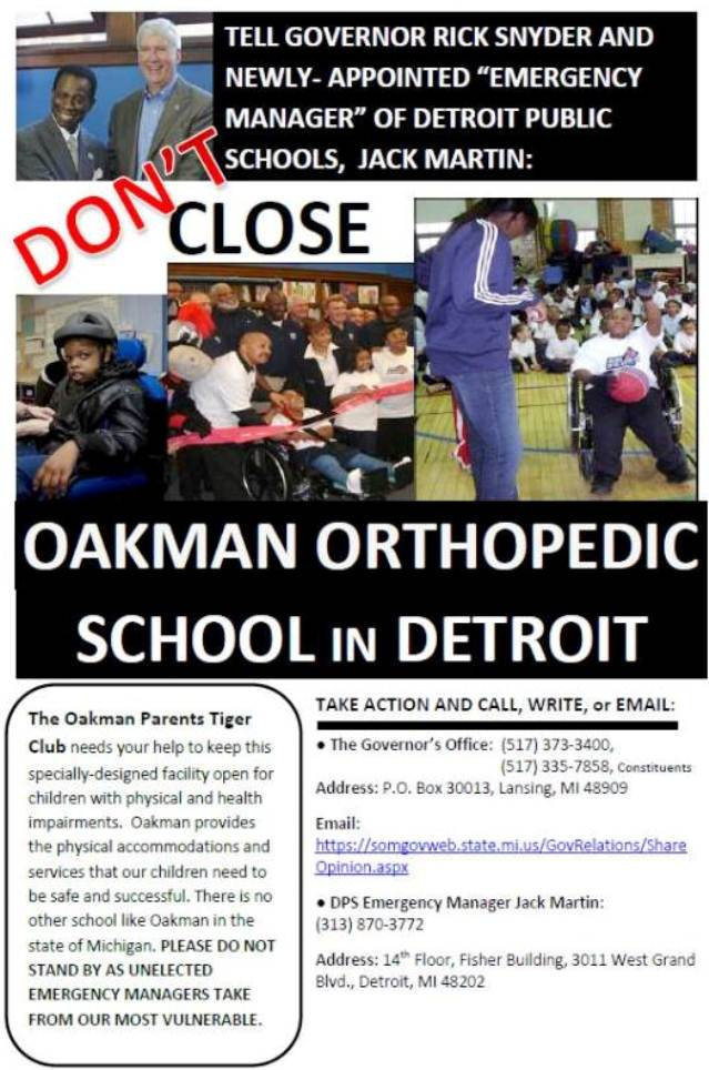 Oakman school closing