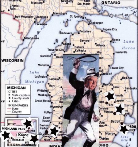 Slavemaster Gov. Rick Snyder goes after Black cities in Michigan under EM laws.