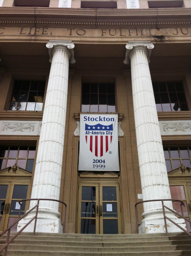 Stockton, CA City Hall.
