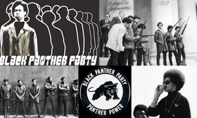 Black Panthers--vanguard of the revolutionary struggle in the '60's and '70's.