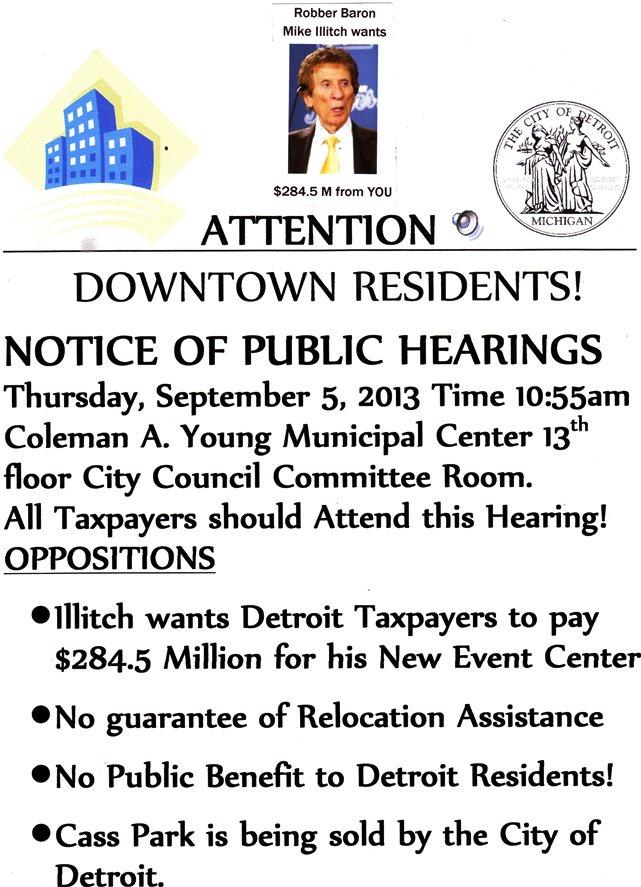 CC Illitch hearing